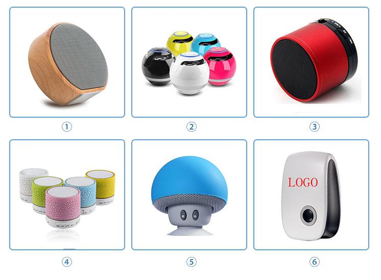 C6 Outdoor Draagbare Mini Draadloze Douche Waterdichte Bluetooth Speaker met Zuignap Voor Relatiegeschenk