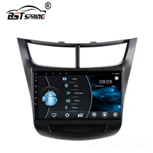 Bosstar Android Monitor Dell'automobile per Chevrolet Sail 2013-2015 Car Stereo Bluetooth Multimedia Player Sistema di Navigazione Gps