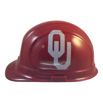 Oklahoma Sooners NCAA Hard Hat with Ratchet Suspension