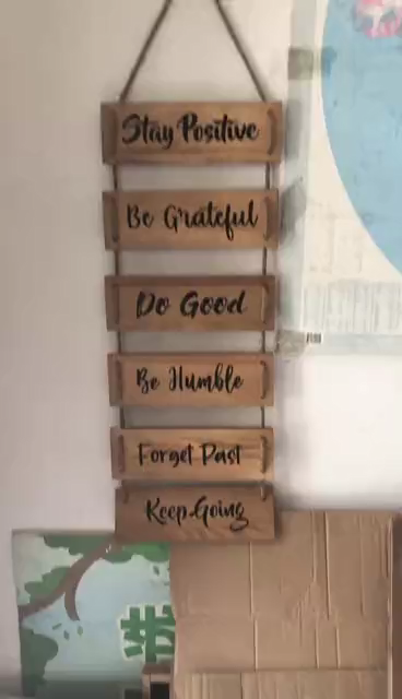Vintage inspirational wall signs shabby chic wooden signs wooden wall decor