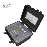 electrical cable insulation test insulation tester megger 10kv high voltage insulation resistance tester