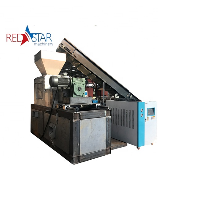 Professional bottles recycle polyester staple fiber making price plastic pet bottle recycling machine with CE certificate