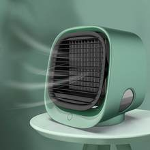 Портативный мини-вентилятор для кондиционера, Настольный увлажнитель, очиститель воздуха, USB, настольный вентилятор с баком для воды, для ко...(Китай)
