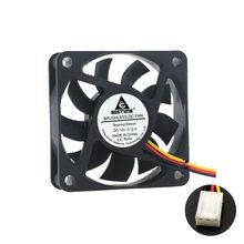 Бесщеточный вентилятор постоянного тока 5 в 12 В 24 в 60x60x15 мм для компьютера, ПК, чехол для процессора, вентилятор охлаждения 6 см 60 мм USB 2PIN 3PIN, в...(China)