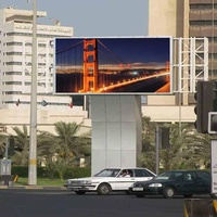 Best price full color outdoor led advertising board P6 outdoor led display