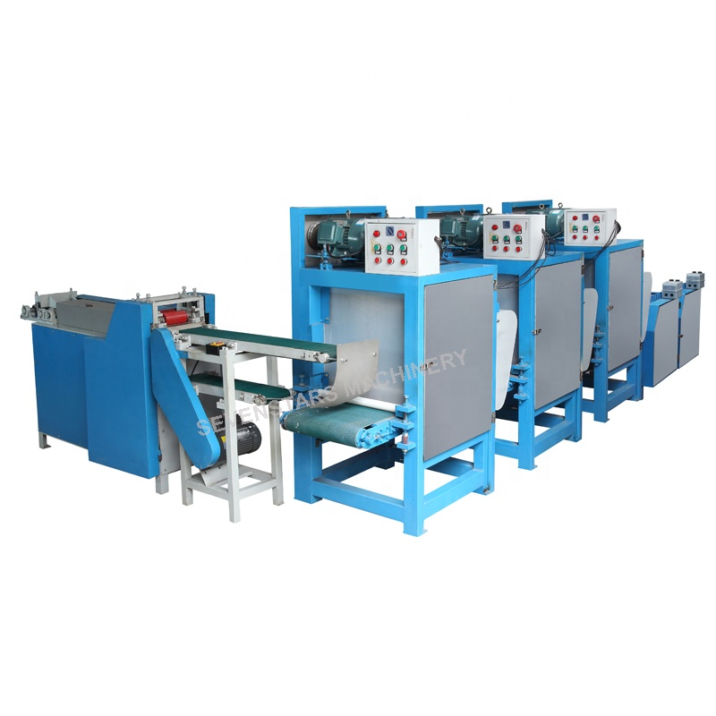 Waste DVD Recycle System CD recycling washing crushing pelletizing machine line