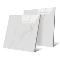 cheap 800x800 indoor Glazed Polished tiles white carrara marble