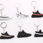 Custom Keychain Bag Charm Key Ring Gifts Sneaker shoe keychain sneakers keychain wholesale
