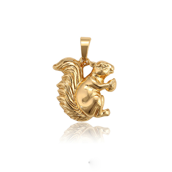 34329 Xuping latest arrival top quality animal kangaroo shape jewelry fashion pendant