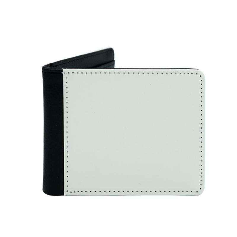 Chinesische Hersteller Leer Herren Sublimation Brieftasche, Sublimation PU Leder Blank Brieftasche für Männer