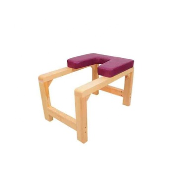 yoga wood headstand bench  stand yoga inversion chair