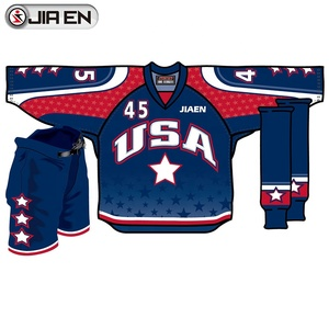 Cheap wholesale blank hockey jersey team reversible camo sublimated custom hockey jersey