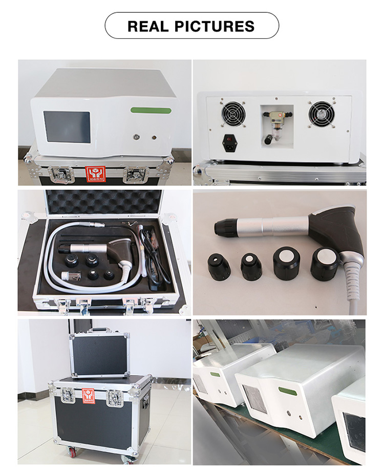 Extracorporal shock wave therapy medical equipment/leg knee pain relief machine/shock wave therapy equipment machine