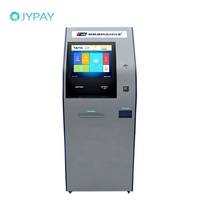Bill Automatic Self Parking Cash Payment Machine With Payment Software