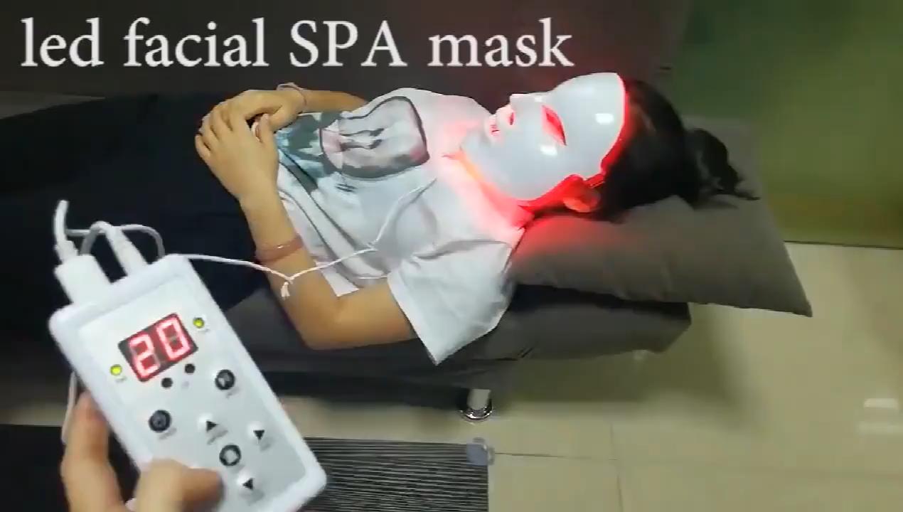 Заводская маска для продажи омоложения кожи 7 видов цветов Светодиодная маска для лица Уход за кожей фотон led омоложение кожи