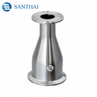 Santhai 3A,DIN,SMS IDF Sanitary Food Grade Stainless Steel SS304 SS316L Forged Clamped Concentric Reducer From China factory