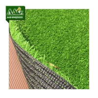Hot! non infill artificial grass football soccer AAG-BMQDS30