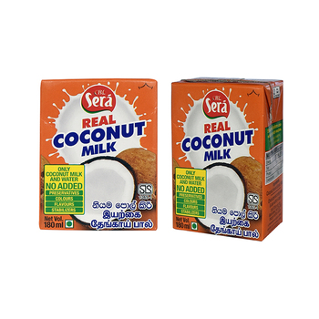 Coconut Milk Drink Low Fat Wholesale Organic Coconut Milk from Sri Lanka