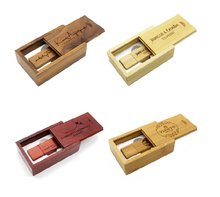 Custom Box Form Usb-Stick 2,0 Usb Stick 8Gb 16Gb 32Gb Holz Usb Memory Stick