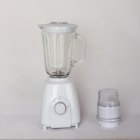 Home Electrical commercial Appliance Distribubor 1500ML Electric Glass Jar Table Blender mixer grinder