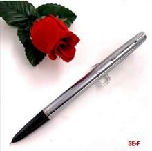 Wing Sung 601 вакуумная авторучка, стальная чернильная ручка, Поршневой Тип, тонкий наконечник, Золотой/Серебряный зажим, канцелярские принадлеж...(Китай)