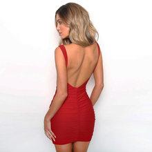Bonjean, женские сексуальные Клубные платья без бретелек, без рукавов, для вечеринок, сексуальные, весенние, макси, летние, пляжные, женские плат...(Китай)