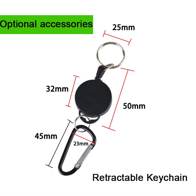2020 Customized No Touch Contactless Door Opener Keychain Tool Touchless door open Tool