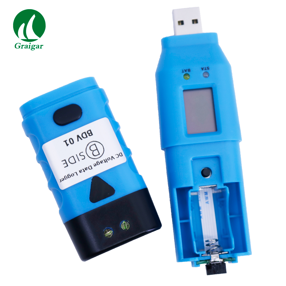BTH01 Professional Digital Humidity and Temperature USB Data Logger Recorder 0~100% RH LCD Display Dew Point Software CD IP66