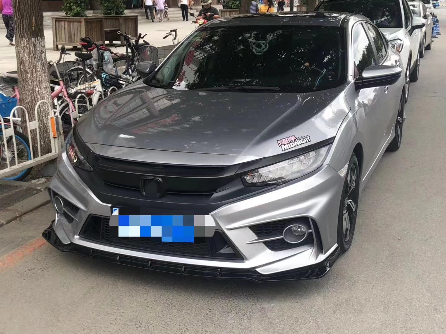 Factory Pp Bumper High Quality Body Kits For Honda Civic Yofer Fc 450 2016 2018 Buy Auto Parts Factory Pp Abs Bumper High Quality Bodt Kits For Honda Civic Yofer Fc 450 Product