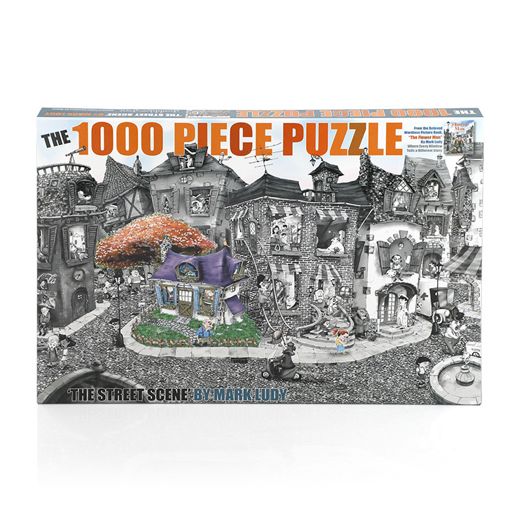 Pas cher 1000 Pièces Pc Pièce Imprimable Puzzle Papier Puzzle Pour Adulte