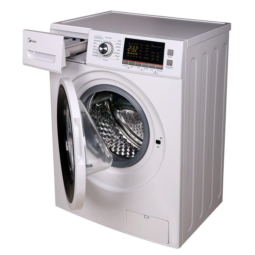 10kg Fully Automatic Front Loading Washer And Dryer Combo All In One View Washer Dryer Smad Or Oem Product Details From Qingdao Smad Electric Appliances Co Ltd On Alibaba Com