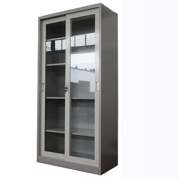 Colour Steel Office Cabinet Gl Door