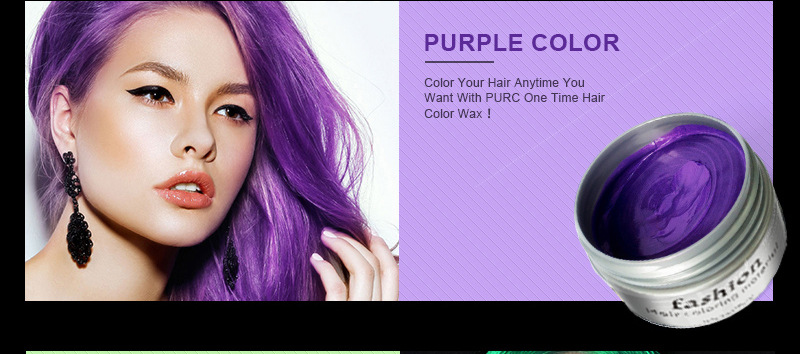Wholesale Unisex Hair Wax Color Dye Styling Cream Mud Natural Hairstyle Pomade Washable Temporary Disposable Hair Dye