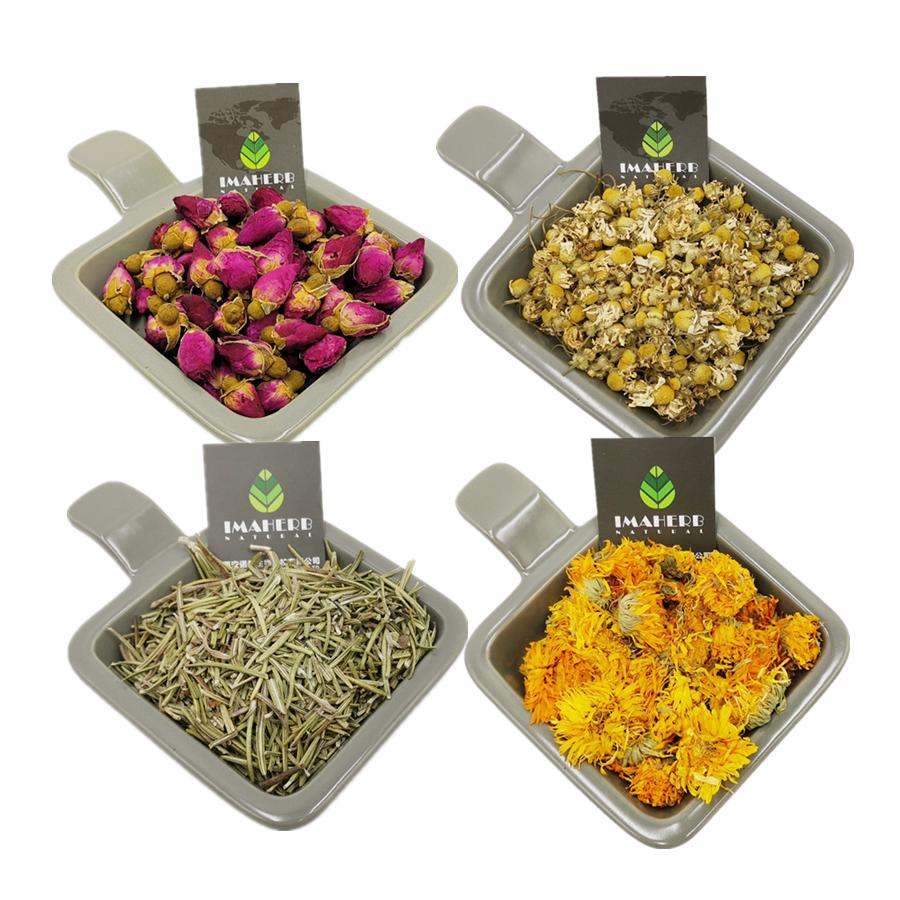 Natural Organic Lavender/Chamomile/ Rose/Rosemary/Calendula/Marigold Dried Flower - 4uTea | 4uTea.com
