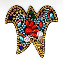 Huacan Алмазная вышивка брелок буквы алмаз особенной формы вышивка брелок любовь мозаика аксессуары(Китай)