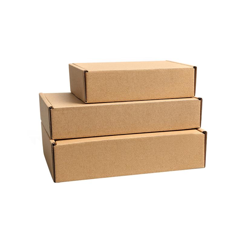 Benutzerdefinierte große well faltbare kraft braun versand karton verpackung karton box für mailing