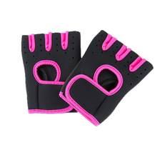 Противоскользящие спортивные перчатки для гантели, тренировочные велосипедные перчатки, дышащие, горизонтальные, для тренажерного зала, в...(Китай)