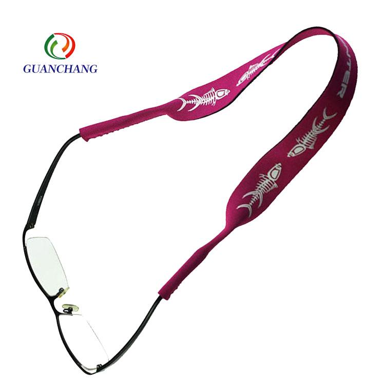 Lanière flottante faite sur commande de sangle de retenue de lunettes de soleil de cadeaux promotionnels de mode