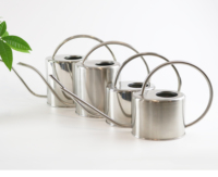 Gardening tools Stainless stele Material Type Metal Watering pots for planting water can