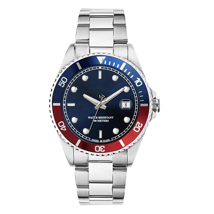 OEM Japan Movt Automatic Watch Stainless Steel Luxury Wrist Watches Men