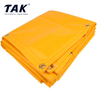 Different Color Waterproof 570g/m2 Vinyl Tarp Heavy Duty Bache PVC Tarpaulin