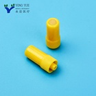Factory price disposable sterile yellow injection stopper heparin cap