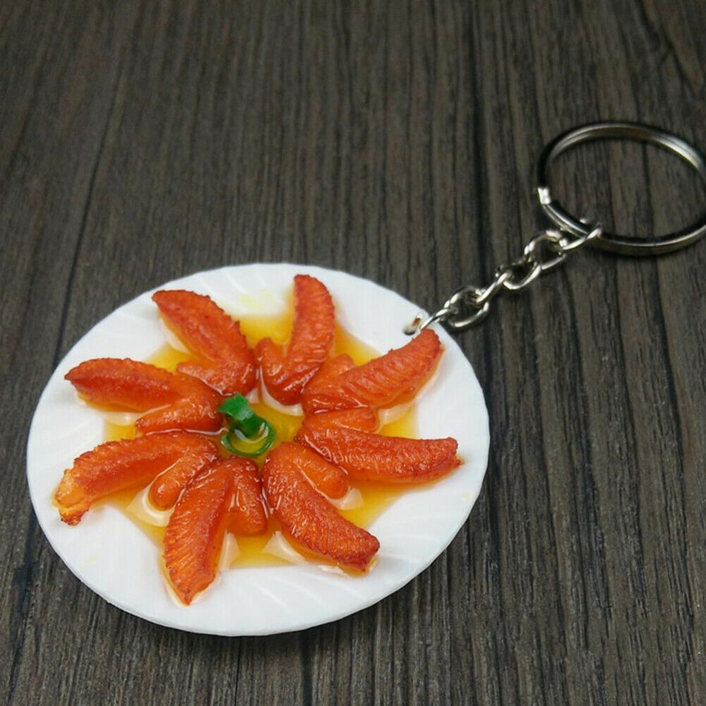 Food Model Keychain Stylish <strong>Cute</strong> Purse Bag Pendant Decoration <strong>Gift</strong> KP645