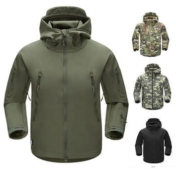 classic design softshell waterproof jacketsmen outdoor softshell jacket windproof waterproof military army tactical jacket men
