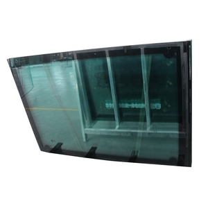 custom window glass windshield windscreen front upper flat automotive tempered glass