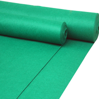 Outdoor Used Exhibit Velour Carpet Green Carpet For Wedding Exhibition Carpet For Expo