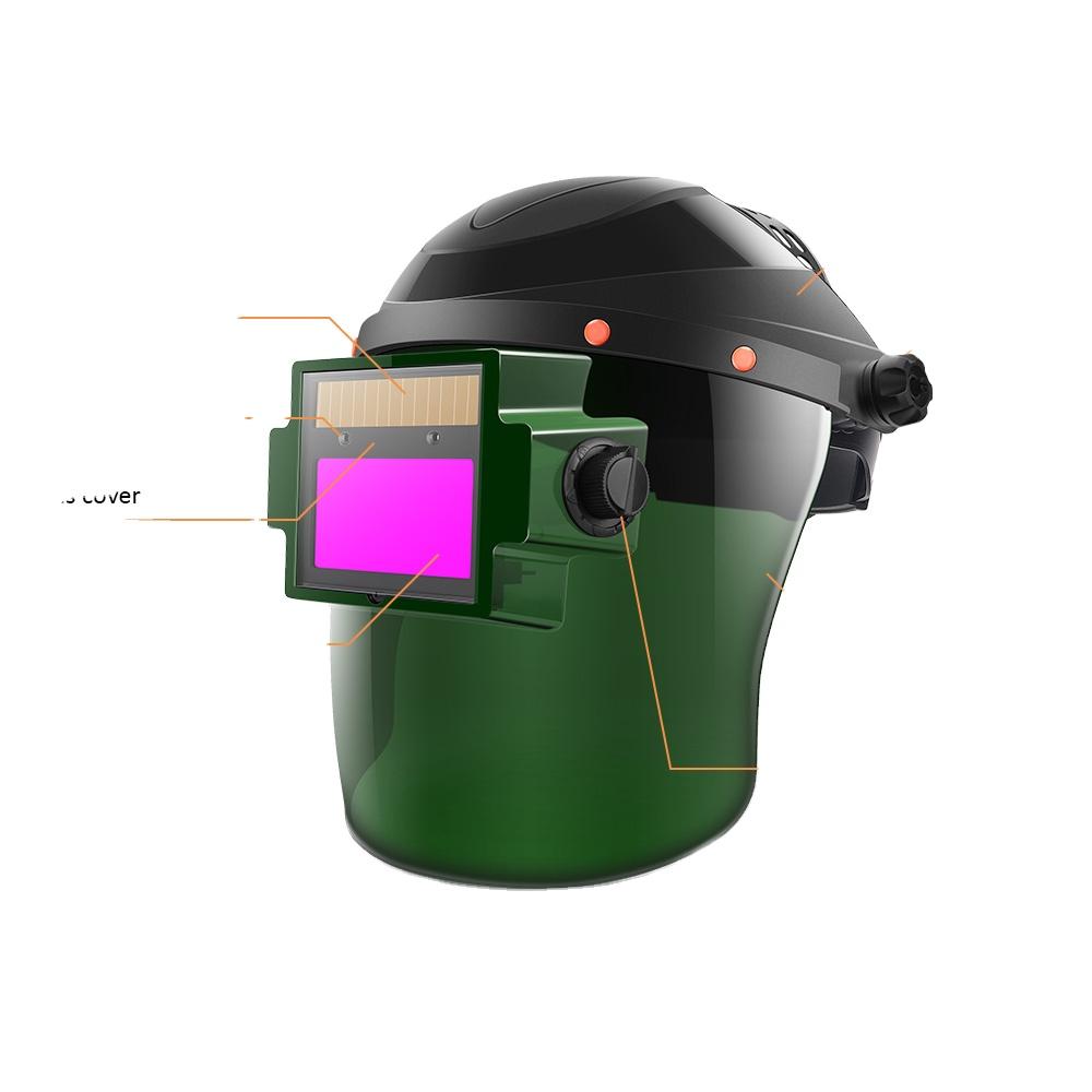 Solar Auto Darkening  Splash Proof Safety Welding  Air Fed Welding HelmetSplash Proof Safety Welding Air