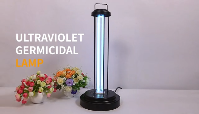 High quality fast direct ultraviolet sterilizer lamp fixture 38W ozone uv disinfection equipments for home room