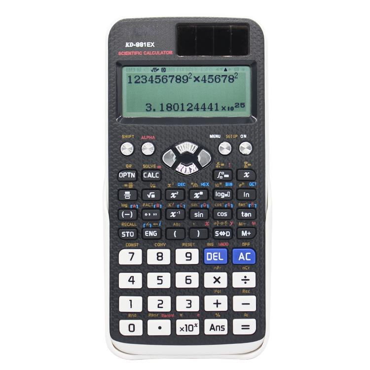 Многофункциональный студенческий образовательный высокотехнологичный научный калькулятор FX-991EX