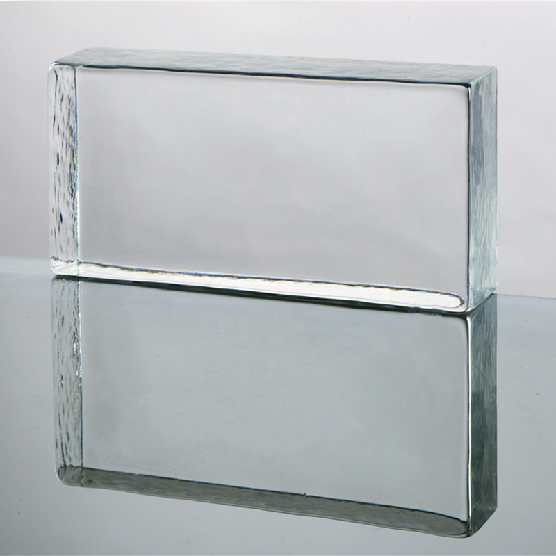 Solid glass brick Trade guarantee glass brick with high quality